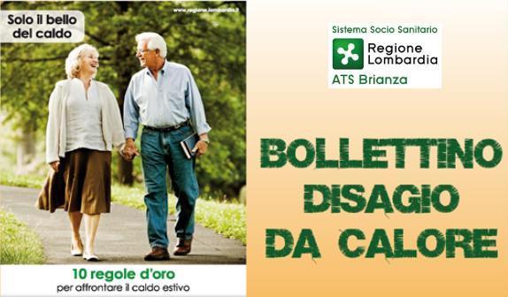 Campagna Caldo - Bollettino disagio da calore 2017