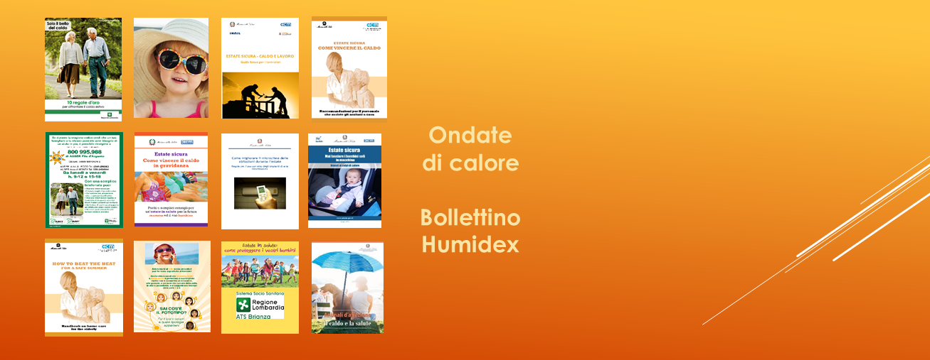 Ondate di calore - Bollettino Humidex